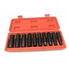 Набор головок FORCE-VOLGA 10 предметов 1/2 ударных ГЛУБОКИХ (DN-E1032)
