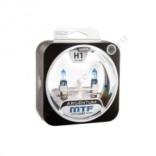 Лампа XENON MTF Н1 Argentum (+80% 55 SUPER White) Колба