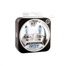 Лампа XENON MTF (Н7 55 +80% Argentum White) Колба