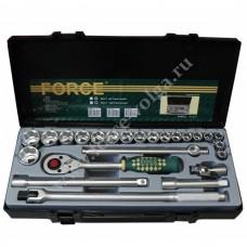 Набор головок Force ( 6 граней ) 24 предмета 10-32мм. F-4243