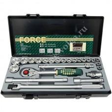 Набор головок Forceтонкостен. ( 6 граней ) 24 предмета 10-32мм. F-4243