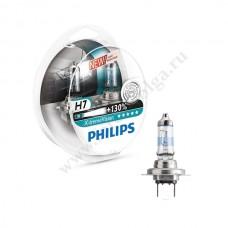 Лампа ФИЛИПС Н7 (55) Х-TRЕME VISION набор +130%
