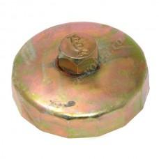 Съемник масляного фильтра АВТОМ 75мм 15гр чашка