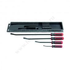 Набор МОНТАЖЕК c красной ручкой 200-600 4 предмета Ликота АТG-6144