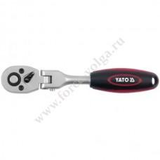 Трещетка 1/4 YATO 72 зуба (159 мм) шарнирная 0325