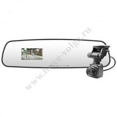 Видеорегистратор PRESTIGE в зеркале з/вида -540 2 камеры наруж, внутри