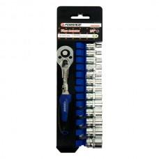 Набор инструмента FORSAGE 1/4 14 предметов 4-14мм. 014-9 12 граней