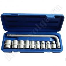 Набор инструмента King Tul 1/2 головки +Г-образный вороток КТ10