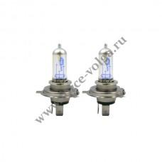Лампа MEGAPOWER Н4 (60/55) +30% НАБОР 5000К