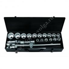 Набор инструмента FORSAGE 3/4 24 предмета 12 граней 17-50мм 6241-9