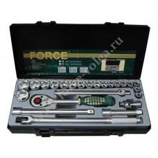 Набор головок Force1/2 ( 6 граней ) 24 предмета 10-32мм. ДЮЙМОВЫЕ F-4243S