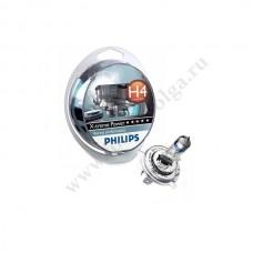 Лампа ФИЛИПС Н4 (60/55) Х-TRME POWER набор +80%