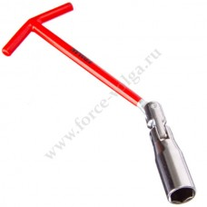Ключ свечной с карданом ЕРМАК 16мм