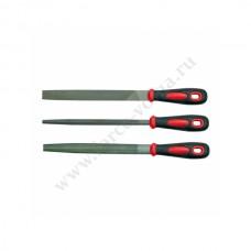 Набор напильников VOREL 3 предмета резиновая ручка 25165