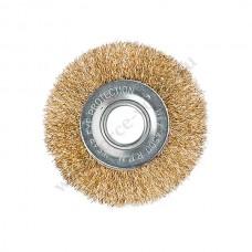 Щетка для шлиф маш 100 мм. дисковая (ДелоТехники) 274100