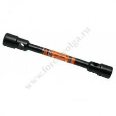 Ключ балонный 24х27 (АвтоДело) Черный лак 30047