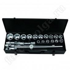 Набор инструмента FORSAGE 3/4 24 предмета 6 граней 17-50мм 6241-5