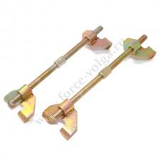 Стяжка  пружин (Двойной.скользящий крюк) 260 мм ТЕХМАШ 13153