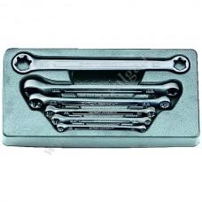Force набор ключей ЗВЕЗД накидных 6 предметов (Е6-Е24) 5062