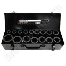 Набор инструмента FORSAGE 3/4 16 предметов УДАРНЫЕ ГЛУБ. 6162 MPB 17-50 мм
