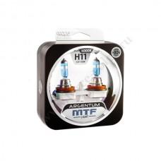 Лампа XENON MTF Н11 Argentum (+80% 55 SUPER White) Колба