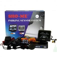 """Датчик парковки black Sho-me KDR-36 (Камера+дисплей3""""+4 датчика)"""