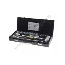 Набор инструмента ЭВРИКА 24 предмета 6 граней 1/2 ER-TK4024