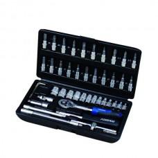 Набор инструмента FORSAGE 1/4 46 предметов 4-14мм. 2462-5