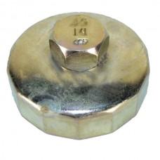 Съемник масляного фильтра АВТОМ 67мм 14гр чашка