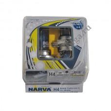 Лампа NARVA Н4 (100/90 W RANGE POWER White) Колба 2шт