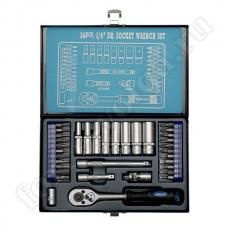 APELAS набор инструмента 36 предметов 1/4 металл