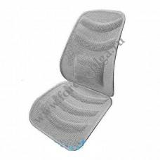 Накидка на сиденье вентилируемая серо/бел. HEYNER 711200
