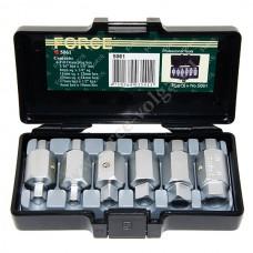 Force набор ключей для маслосливных пробок 6 ПРЕДМЕТОВ 5061