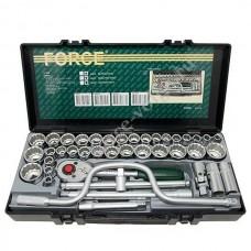 Набор головок Force1/2 ДЮМ+МЕТР 41 предмет 4412