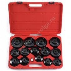 Force набор съемников масляного фильтра 15 предметов 61915