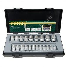 Набор головок Force1/2 6 граней 8-32 21 предмет 4212