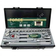 Набор головок Force1/2 ( 6 граней ) 24 предмета 10-32мм. F-4243-5