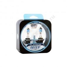 Лампа XENON MTF (Н27 55 Platinum) Колба гнутая