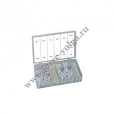 Рем. комплект ПЛАСТИКОВЫЕ фиксаторы для прокладки кабелей. 256 предметов .F-865