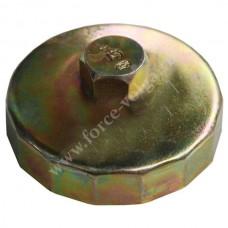 Съемник масляного фильтра АВТОМ 91мм 15гр чашка ПАРТНЕР