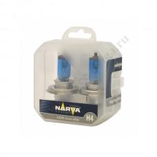 Лампа NARVA Н4 (60/55 W Renge Power White) Колба 2шт