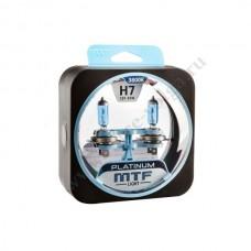 Лампа XENON MTF (Н7 55 Platinum) Колба