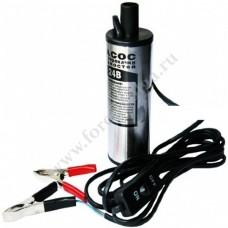 Насос ДЛЯ ПЕРЕКАЧКИ топлива електрич. 24 W  диаметр 38мм без фильтра PR-1091 (бак 17438)