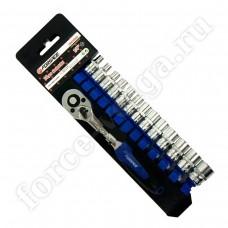 Набор инструмента FORSAGE 1/4 19 предметов 4-14мм. 014-9 12 граней