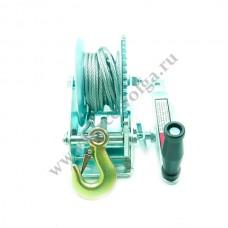 Лебедка Барабанная 635 кг стальн.FORSAGE WC06-514-2