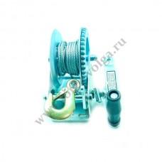 Лебедка Барабанная 727 кг стальн.FORSAGE WC06-516-2