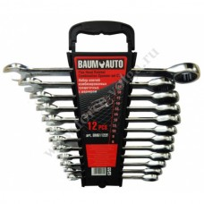 Набор ключей трещет.BRAUMAVTO 10 предметов (8-19мм) BM61102