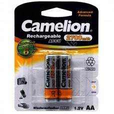 Батарейки АККУМУЛЯТОРНЫЕ АА 2700 mAh CAMELION