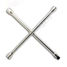 Ключ балонный крест (ЭВРИКА) (14х17х19х22) ER-34414