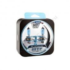 Лампа XENON MTF Н7 (55 Platinum) Колба